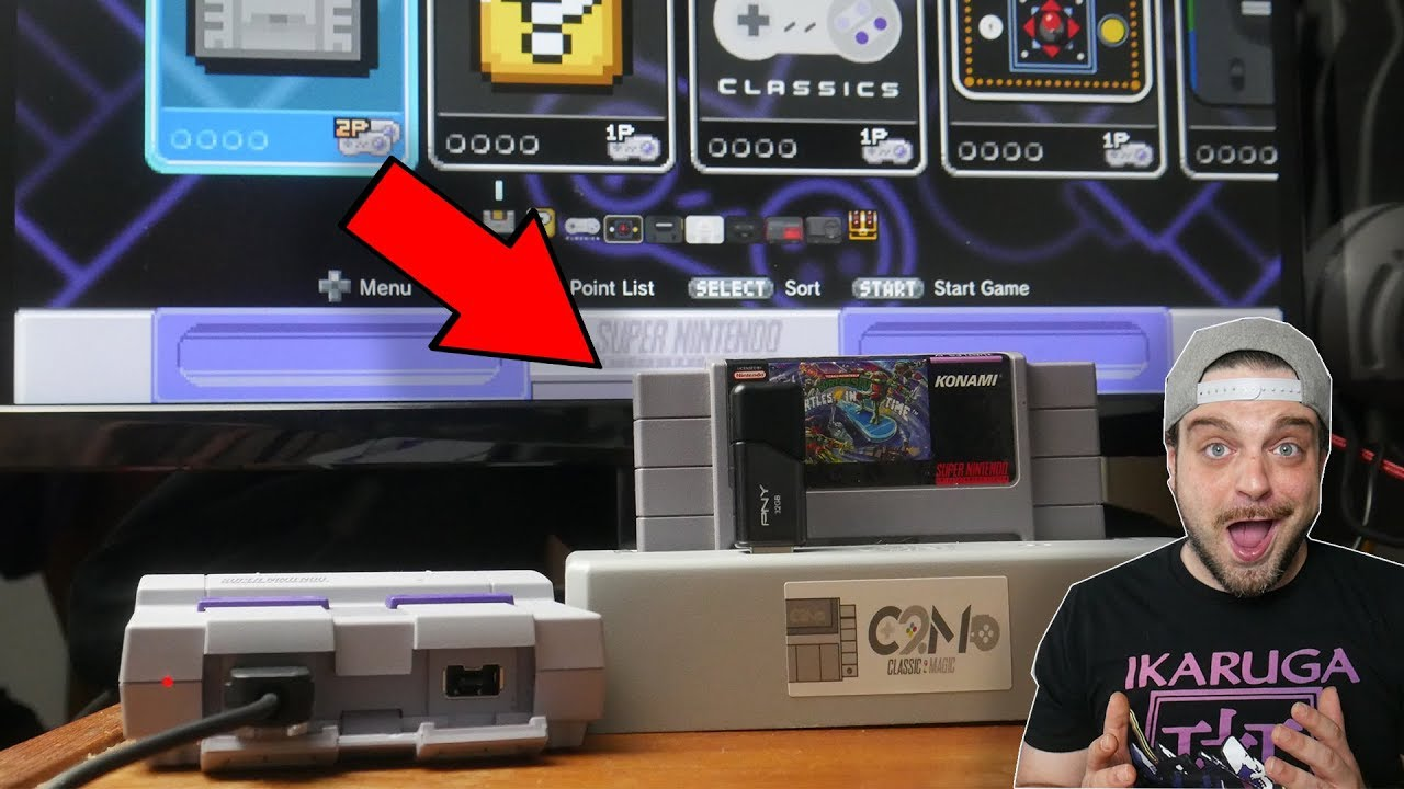 Play SNES Carts and TONS of Emulators on SNES Classic! | RGT 85