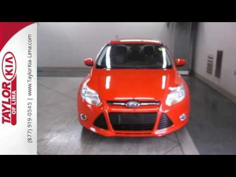 Used 2012 Ford Focus Lima OH Findlay, OH #JM2996 · Taylor Kia Lima