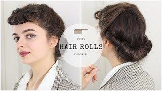 All The Rolls | 1940s Hair Tutorial