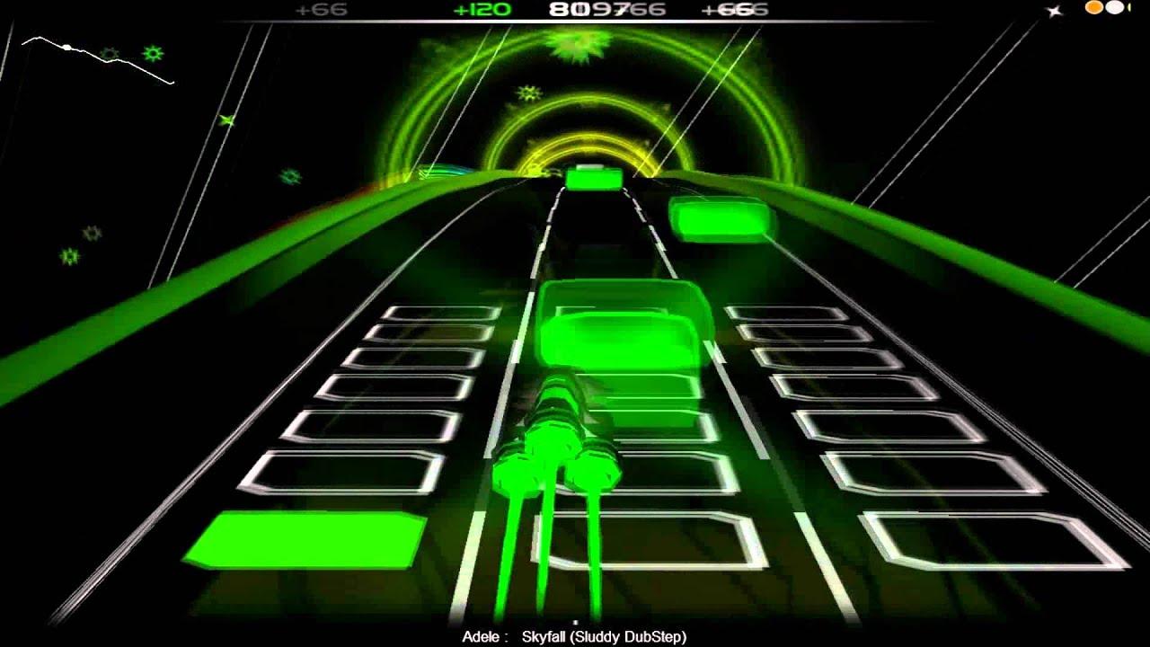 Adele-Skyfall [Sluddy Dubstep] --Audio Surf Gameplay [HQ]