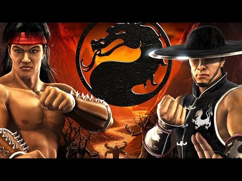 Mortal Kombat: Shaolin Monks All Cutscenes (Game Movie) 1080