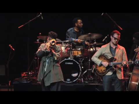 "Christian Scott - ""Eraser"" at the HSBC Jazz Festival"