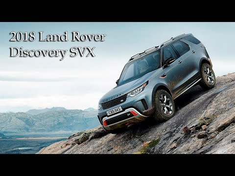 2018 land rover svx. perfect 2018 allnew 2018 land rover discovery svx review in land rover svx s