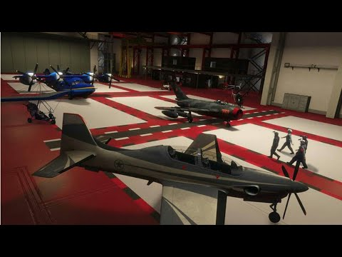 GTA ONLINE SMUGGLERS RUN NEW AIRCRAFT HANGAR IN FORT ZANCUDO MILITARY IS DOPE