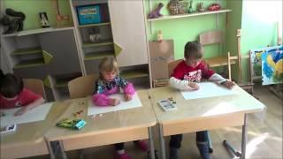 Урок рисования для малышей