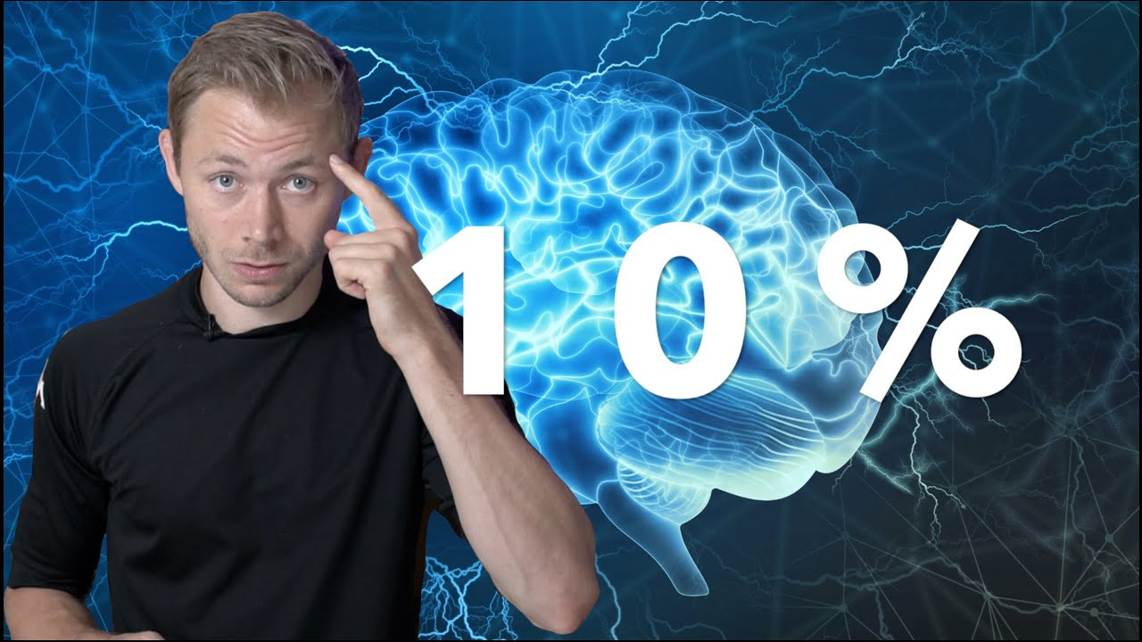MYTE: Du Bruger KUN 10% Af Din Hjerne