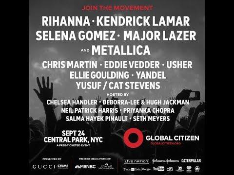 Rihanna Live 2016 Global Citizen Festival | 360 VR Experience Trailer