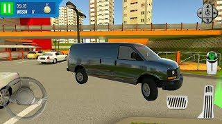 Multi Level Car Parking 6 #3 Large Van - Android Gameplay FHD