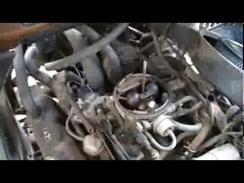 Vacuum Diagram 1990 Dodge Ram 250 Van Washed And Fix High Idle Youtube