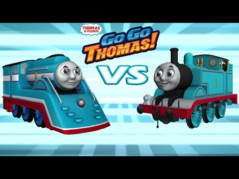 Thomas y sus amigos - Thomas Vs Thomas Aerodinamico Los 2 Thomas ...