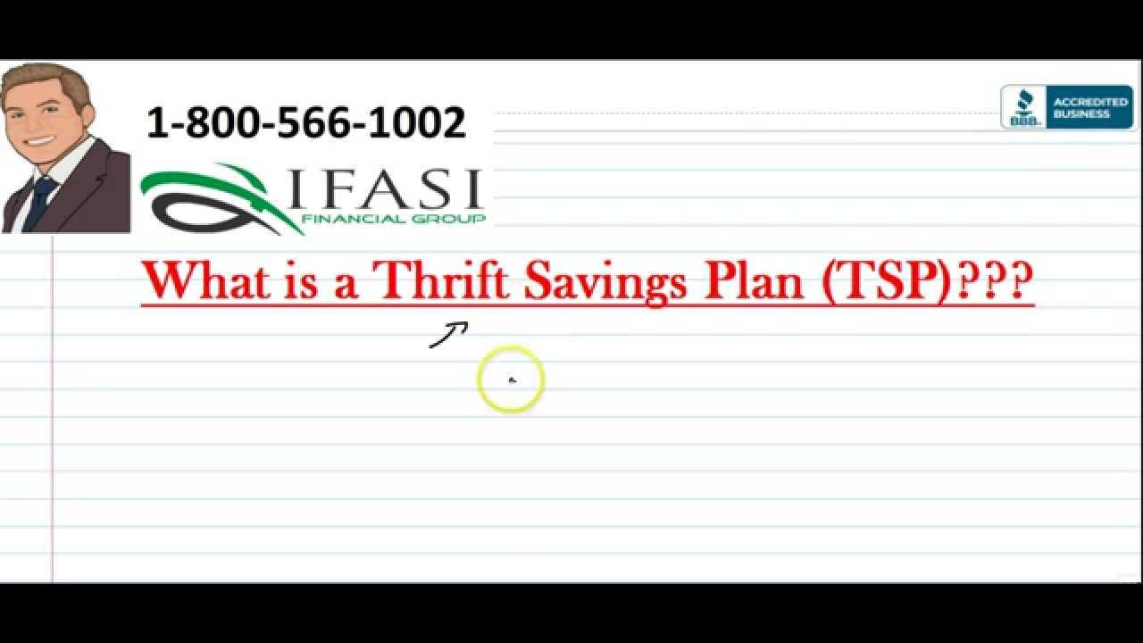 Thrift Savings Plan - Thrift Savings Plans - YouTube