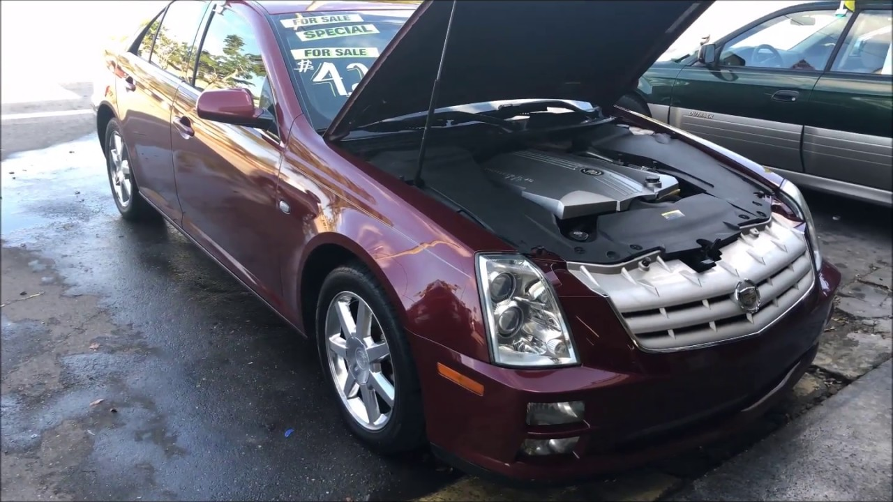 easy fix when cadillac sts is running rough (only 4 cylinders working)