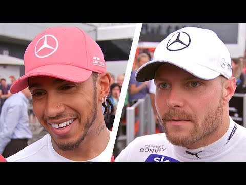 Lewis Hamilton wins SIXTH British Grand Prix! | Hamilton, Leclerc & Bottas Post-Race Interviews