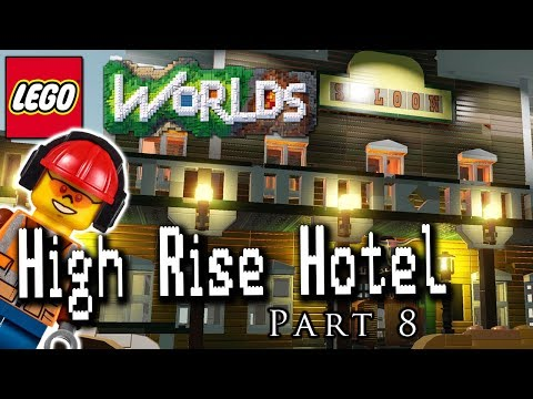 High Rise Hotel Part 8: Building a Western Themed Restaurant!