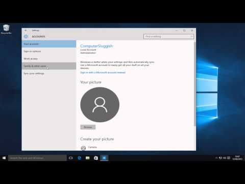 How To Change A Local User Account To Admin In Windows 10 Tutorial