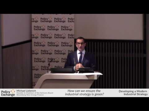 Michael Liebreich - How can we ensure the industrial strategy is green?