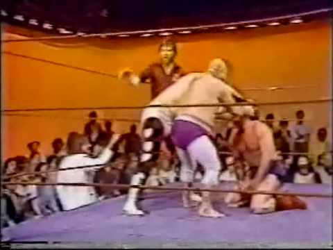 Bill Dundee vs Wayne Farris & Tojo Yamamoto with Jimmy Hart (3-7-81) Part 2 of 2