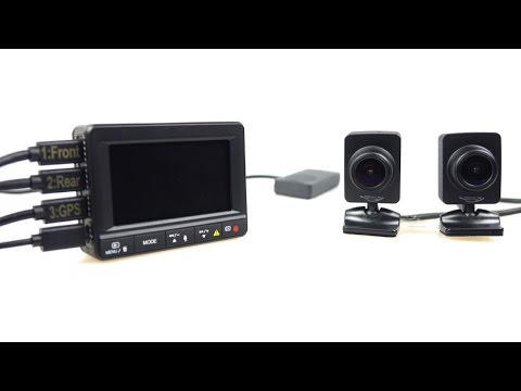 K1S - The First Front & Rear 1080p Hidden Recorder Car Dash Cam