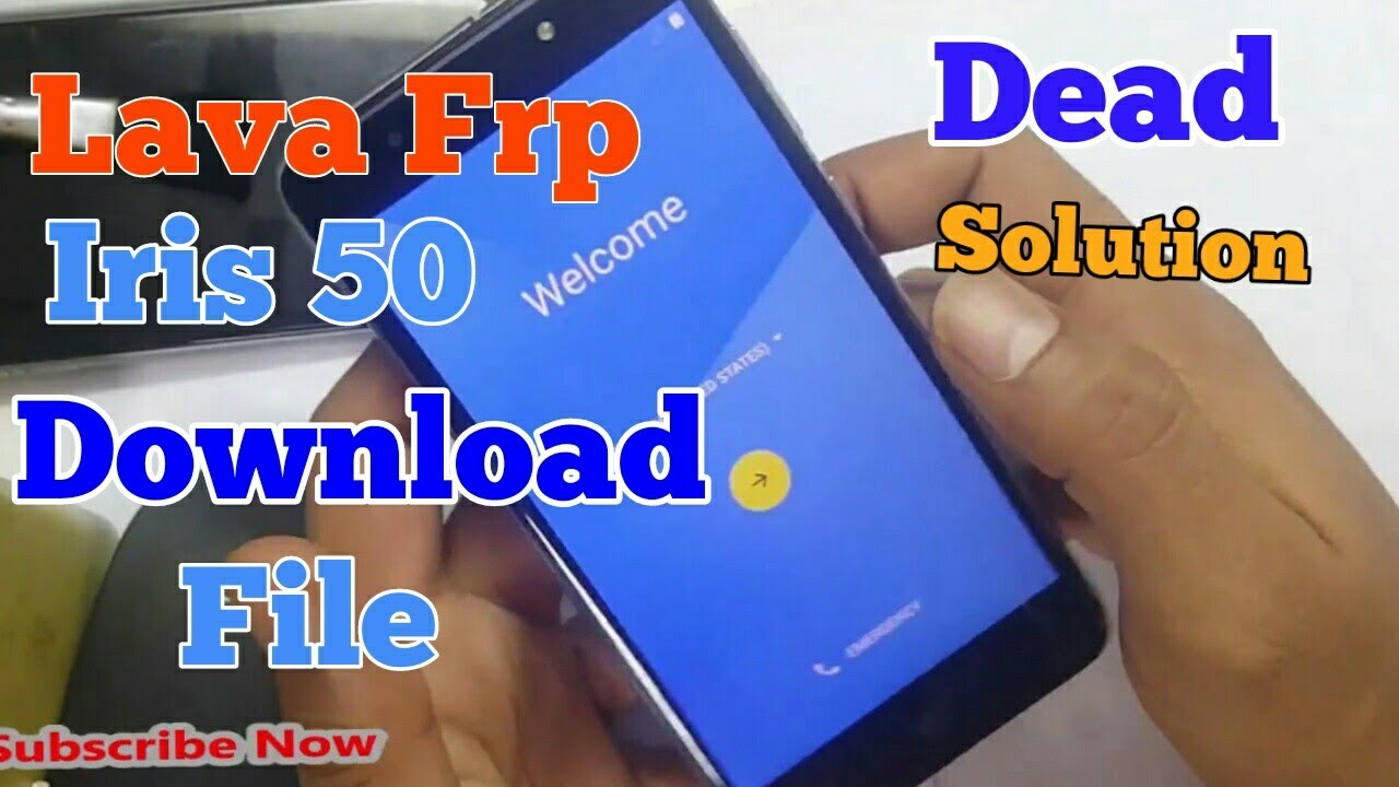 Lava Iris 50 Frp Bypass Remove Download File