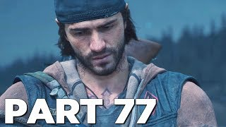 IRON MIKE STORYLINE ENDING in DAYS GONE Walkthrough Gameplay Part 77 (PS4 Pro)
