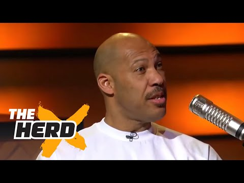 LaVar and Lonzo Ball join Colin to talk future NBA career and more   THE HERD (FULL INTERVIEW)