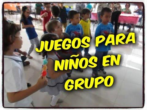 Dinamicas Para Ninos 48 Juegos De Ninos En Grupo Dynamic For