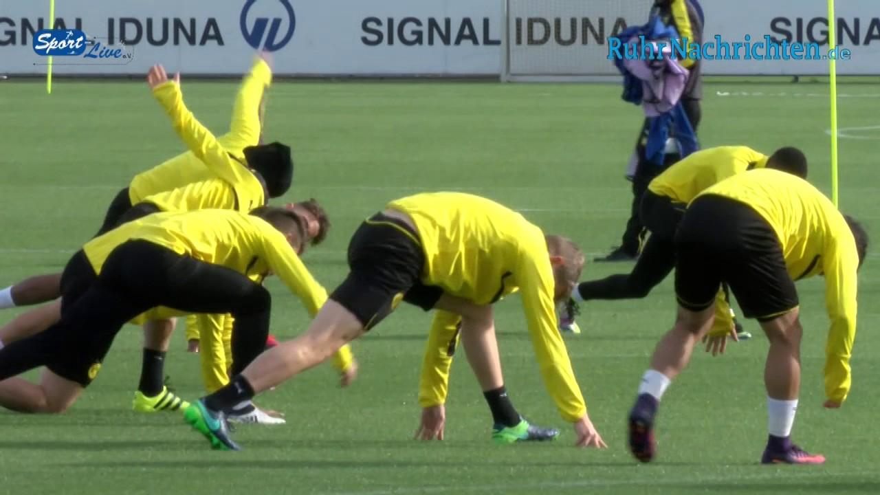 BVB-Abschlusstraining vor dem Spiel Borussia Dortmund – Sporting Lissabon 01.11.16