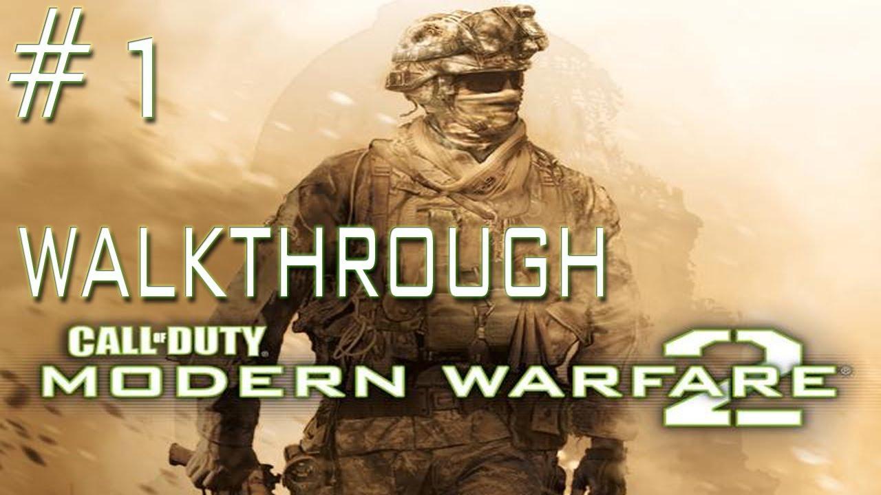 Call Of Duty Modern Warfare 2  Walkthrough  Mission 1