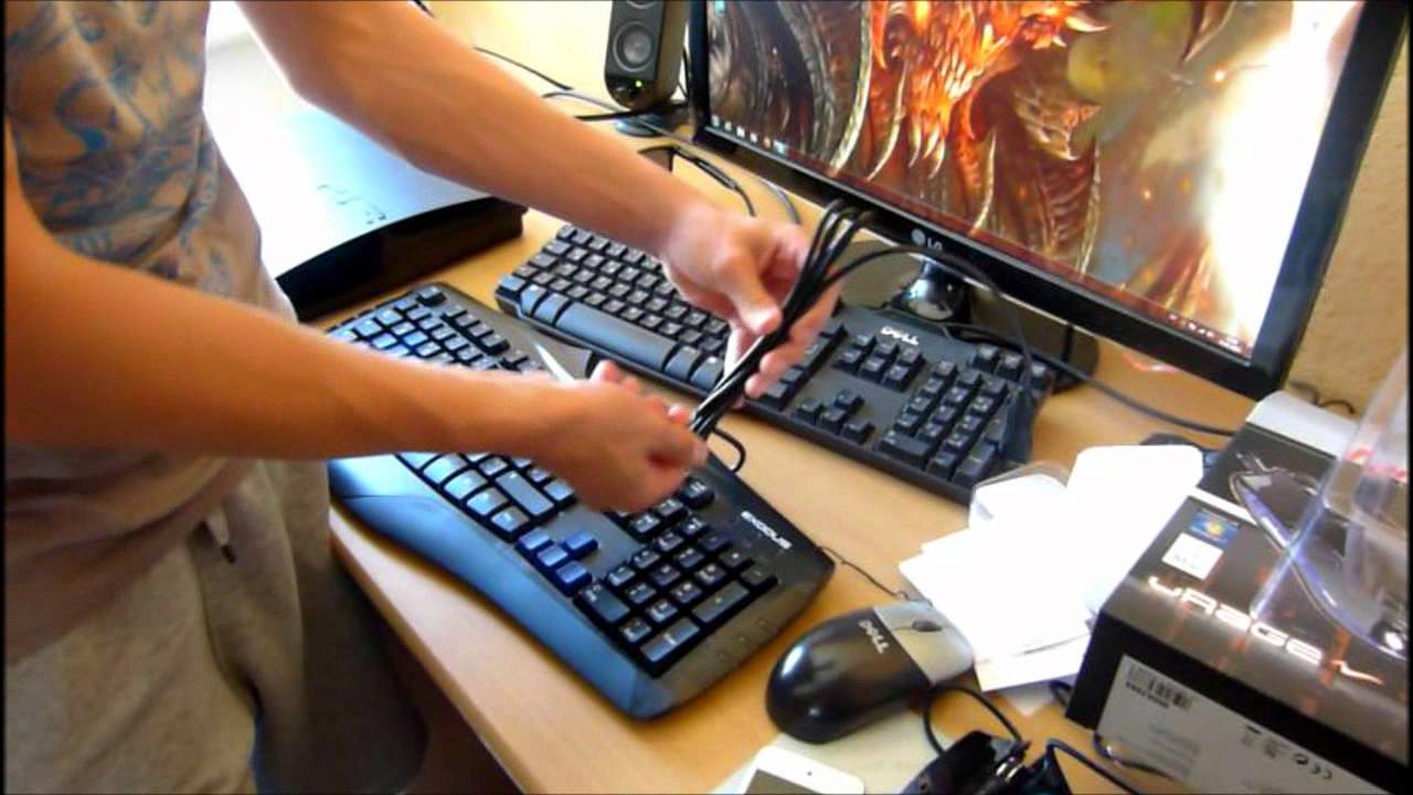 8d9c4253d6d Monster's Unpacking #03 Hama URAGE Gaming Tastatur - YouTube