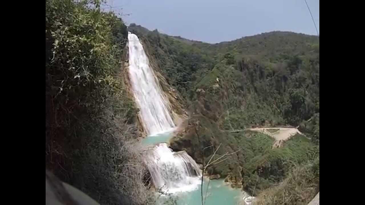 Cascada Velo de Novia, El Chiflón, Chiapas - YouTube