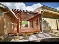 Cedar Deck with Pergola Time Lapse