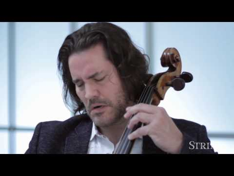 Strings Sessions: Zuill Bailey Performs 3 Movements from Bach's Cello Suite No. 2