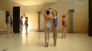 Ithaca Ballet dance camp pointe performance 2012
