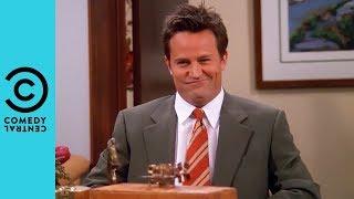 Chandler's Awkward Job Interview | Friends