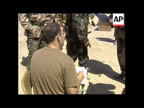 GWT: WRAP Intw with Chalabi, Free Iraq troops trained up