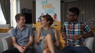 Interview Thomas Mann, Olivia Cooke & RJ Cyler ME AND EARL AND THE DYING GIRL