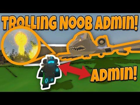 TROLLING A NOOB ADMIN ABUSER! - Modded Unturned