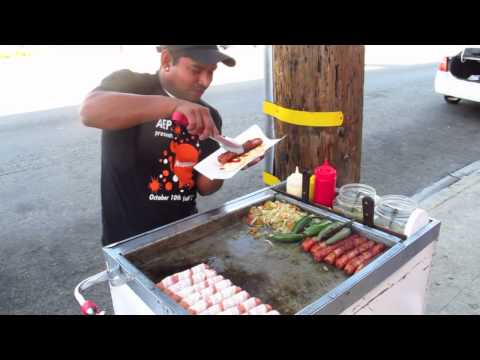 Hot Dog Stand in Lakewood Blvd, CA
