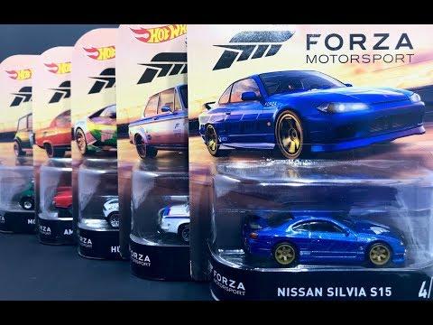 Lamley Preview: Hot Wheels Nissan Silvia S15 & 2018 Entertainment Forza Motorsport Set