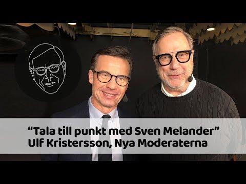 Ulf Kristersson (M) i Tala till punkt med Sven Melander