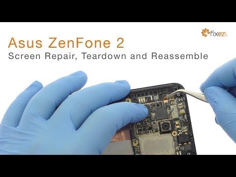 Asus ZenFone 2 Screen Repair, Teardown and Reassemble Guide - Fixez.com