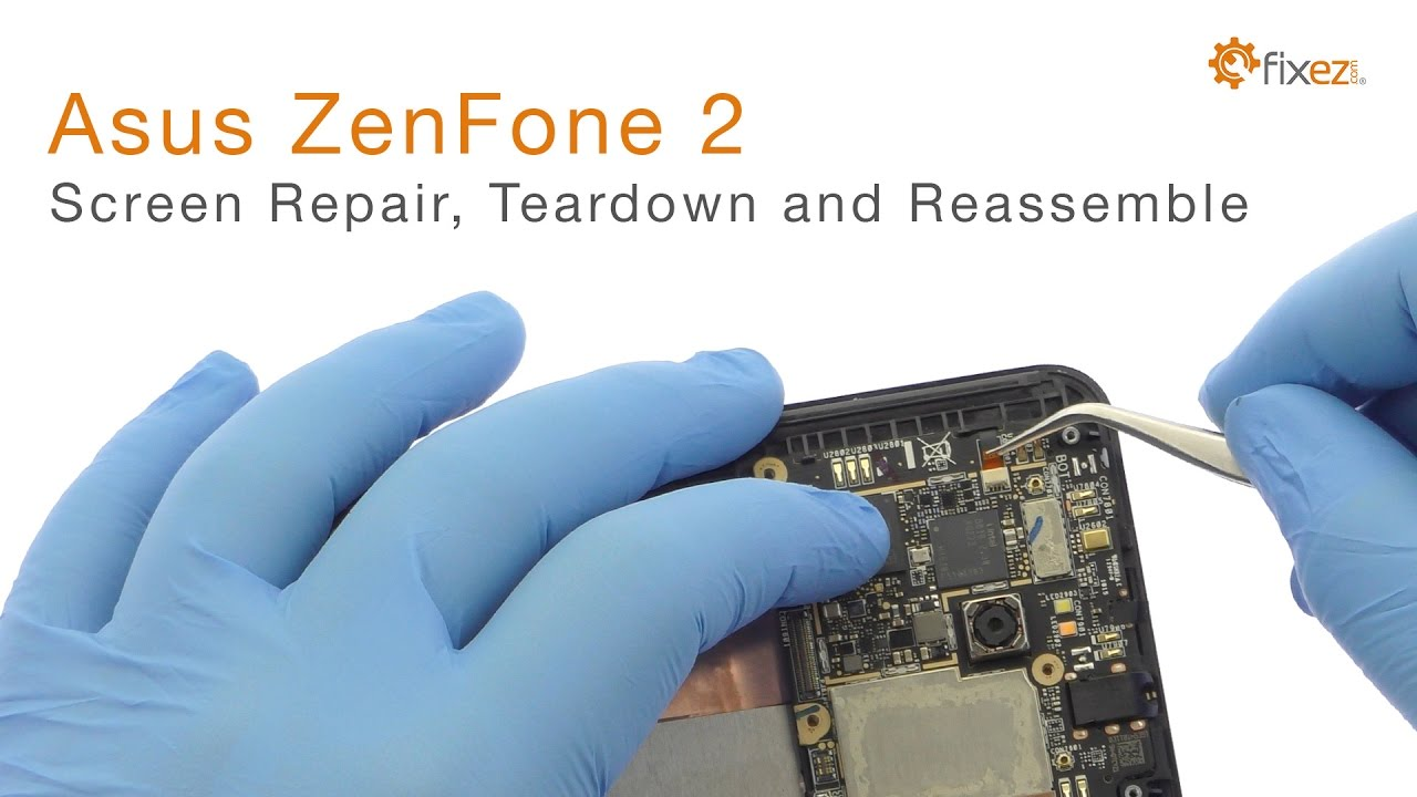 Asus Zenfone 2 Screen Repair Teardown And Reassemble Guide Fixez Philips Part A17f6mpw001 Circuit Board Assembly Oem Mpw Fixezcom Youtube