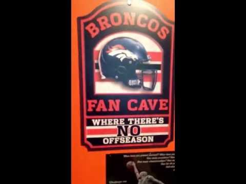 Tour of my broncos man cave