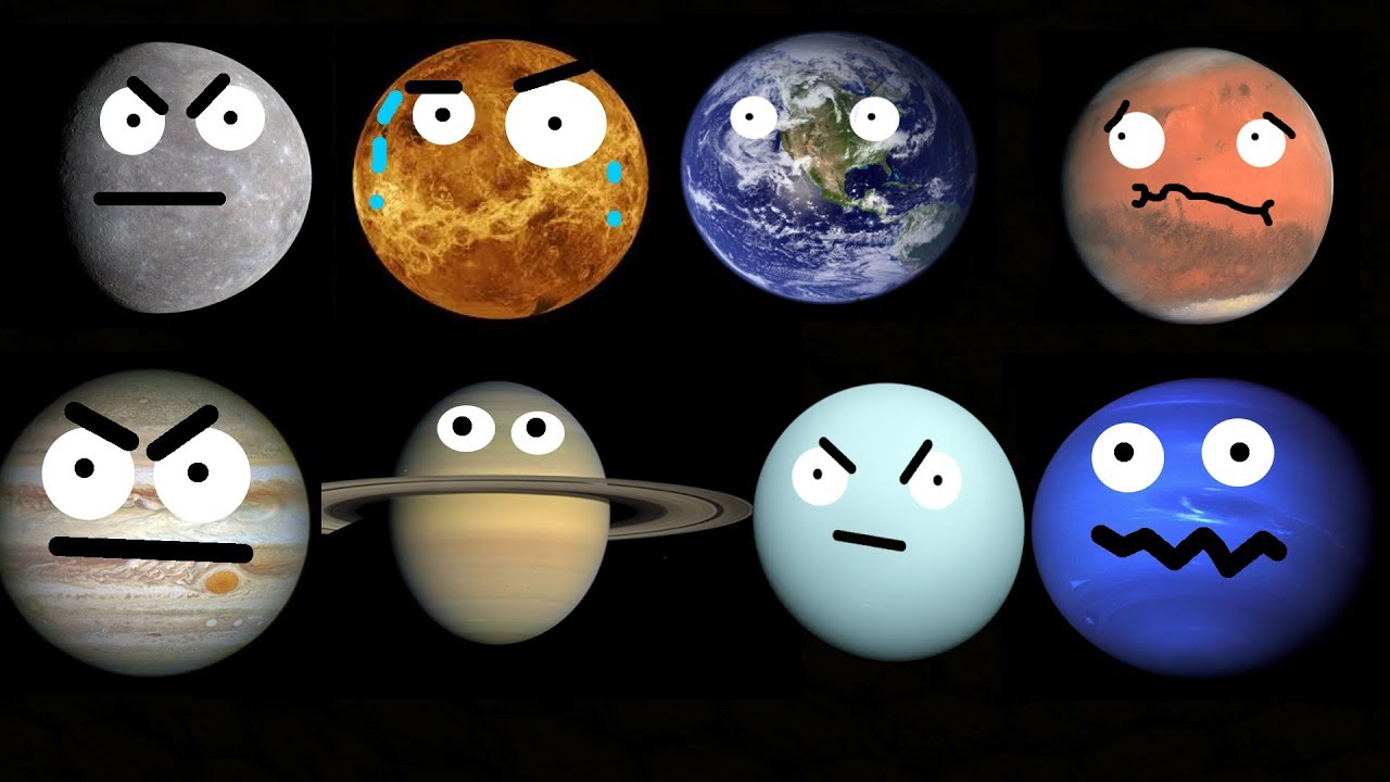 The Planets of our Solar System - YouTube