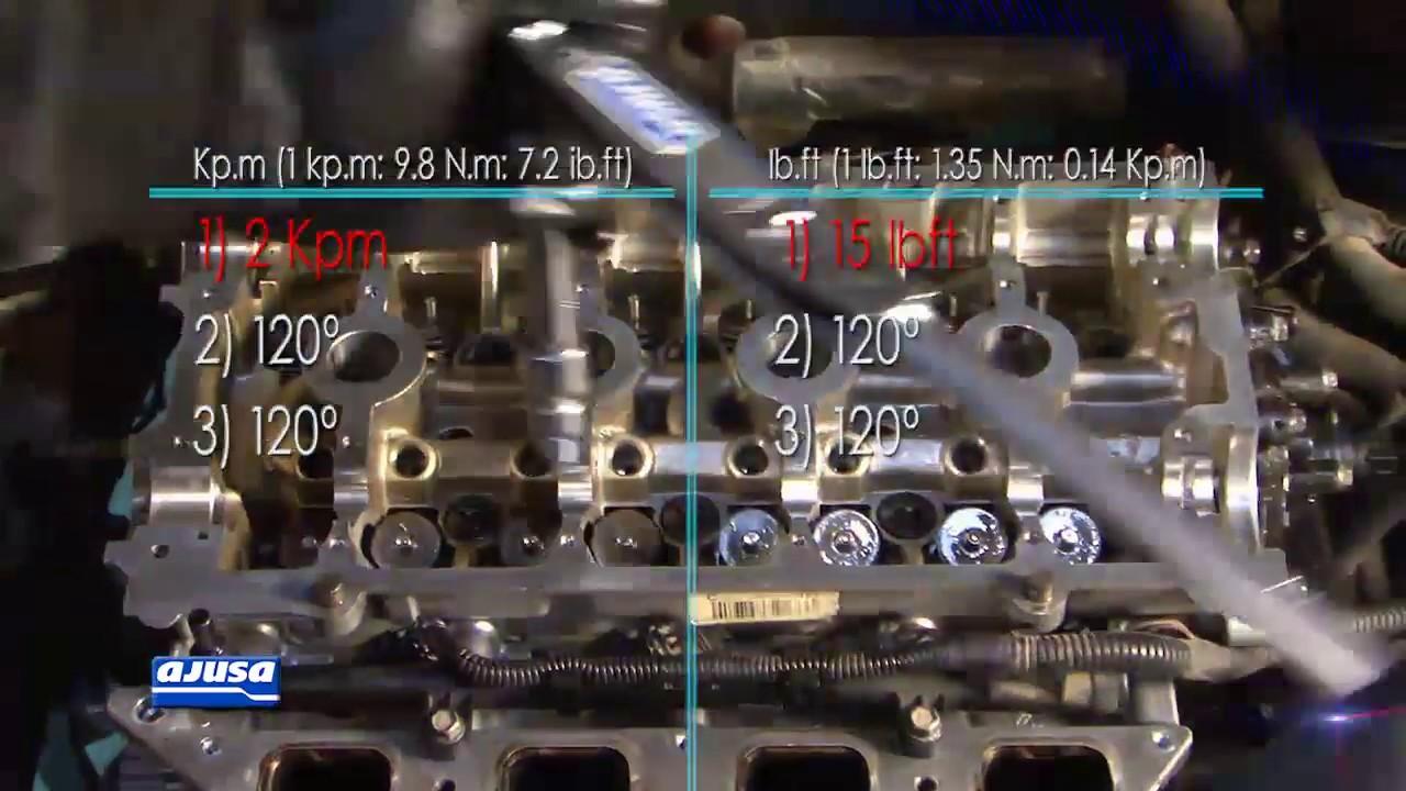 Cylinder Head Bolts / Tornillos de Junta de Culata RENAULT MODUS 1 4 16V  K4J-770