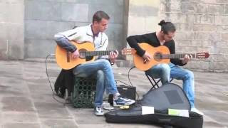Barcelona Pharaon Spanish Guitar - INCREDIBLE STREET MUSIC