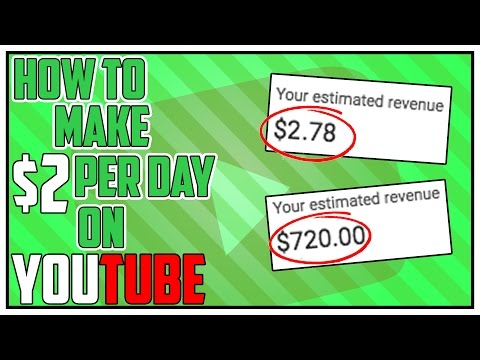 How To Earn $2 Per Day On YouTube ($730 Per Year)