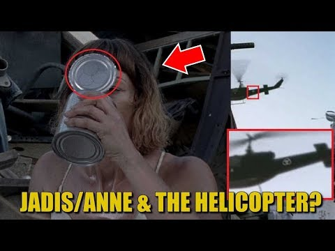 The Walking Dead Season 8 & 9 Jadis Theory - Jadis And The Helicopter Discussion & Theory
