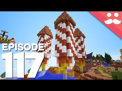Hermitcraft 4: Episode 117 - The Rocket Shop