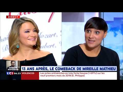"""""""Mes classiques"""" Nouvel album Mireille Mathieu (La Matinale LCI) Mp3"""
